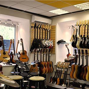 Музыкальные магазины Любинского
